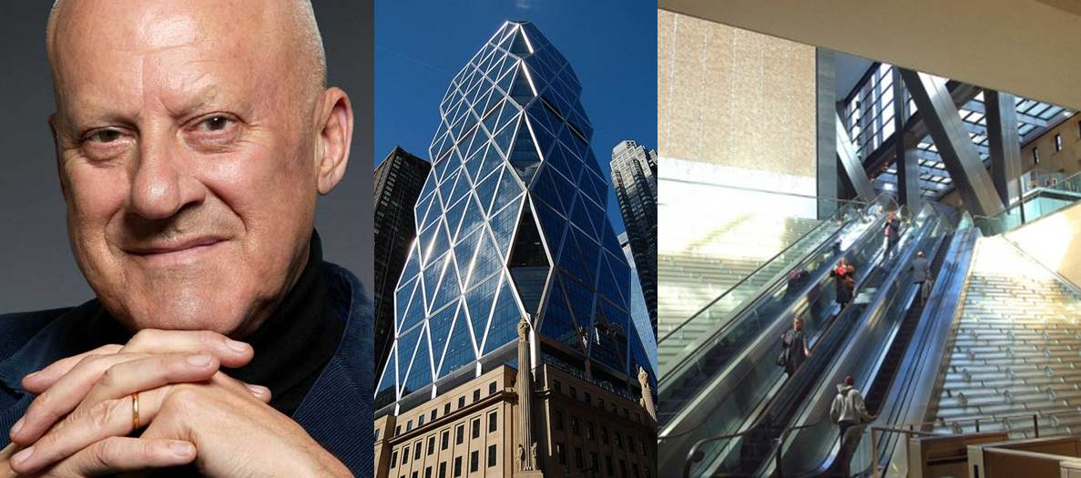 Sir Norman Foster, The Hearst Tower and the Hearst Lobby