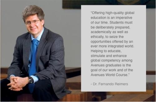 Dr. Fernando Reimers, Ford Foundation Professor of International Education, Director of the International Education Policy Program, Harvard Graduate School of Education.