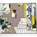 Lichtenstein Exhibition at Centre Pompidue