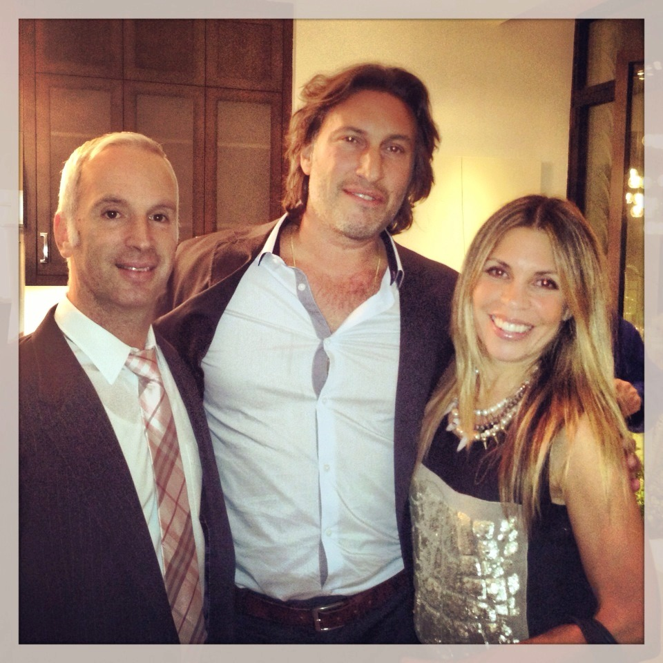 Mark and I with the fantastic Marc Carnevali