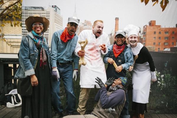 Haunted High Line Halloween