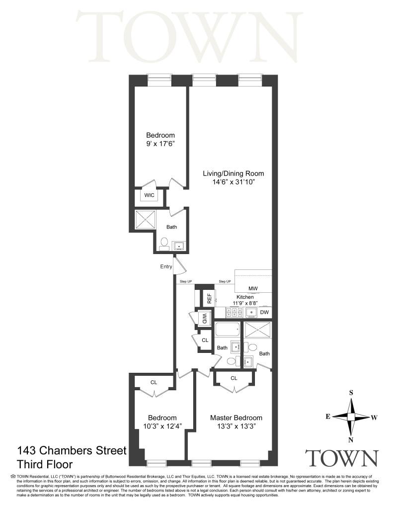 Floor Plan - 143 Chambers #3