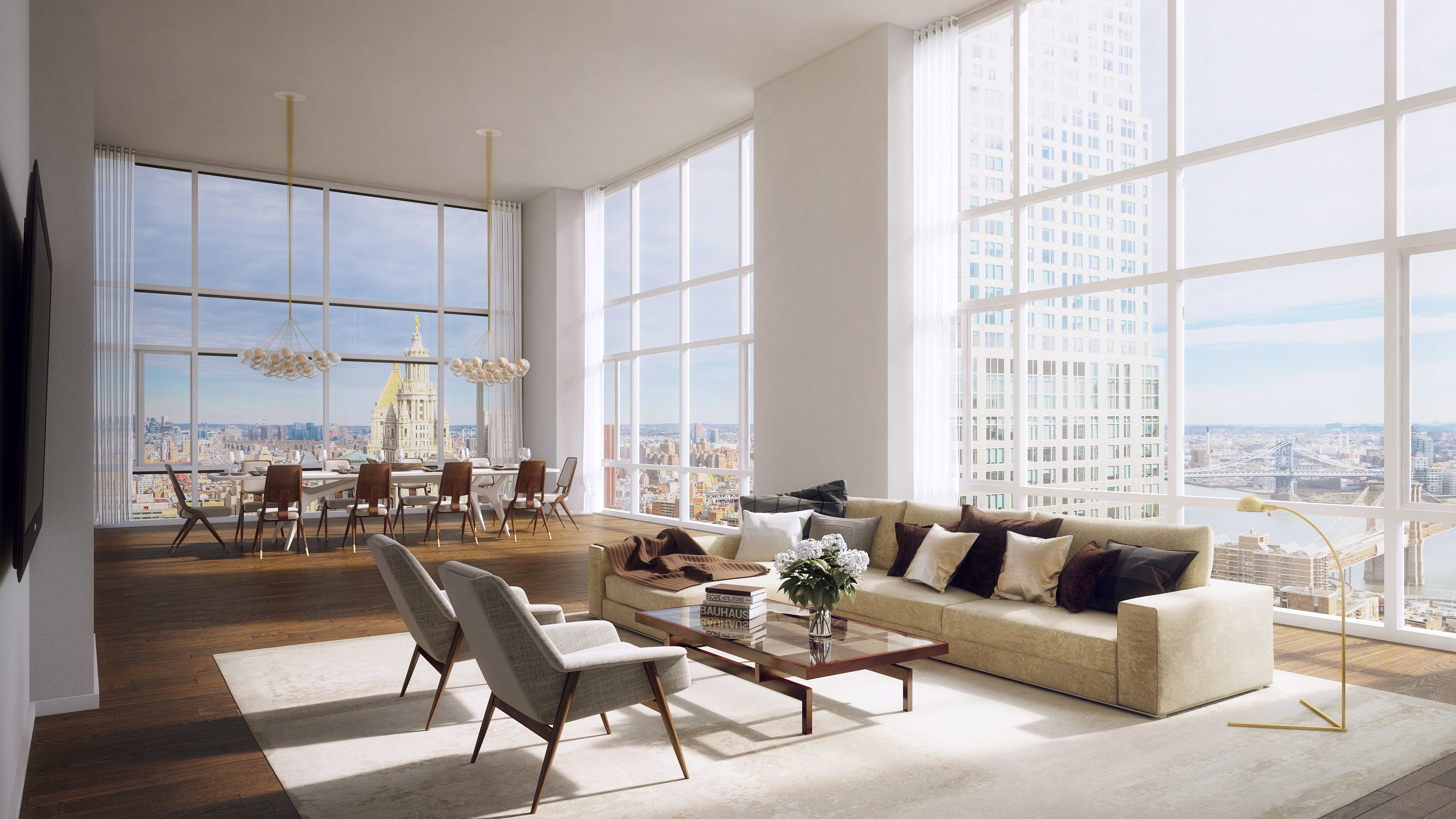 The new new york lower manhattan has been reborn for Living room brooklyn 86 st