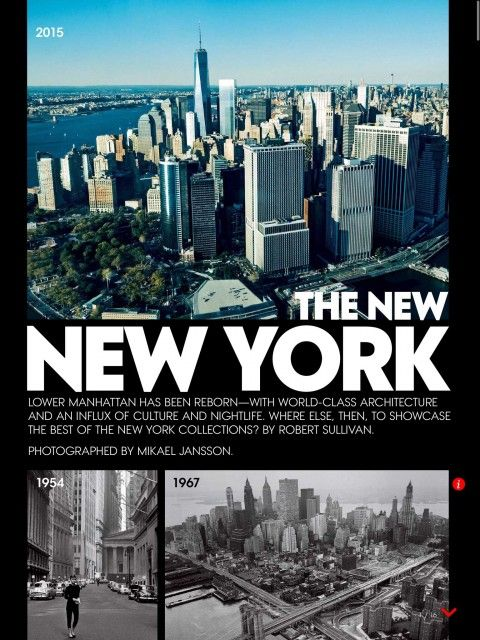 Lower Manhattan has been Reborn - the World Class architecture and nightlife.