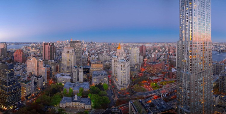 View from the beekman