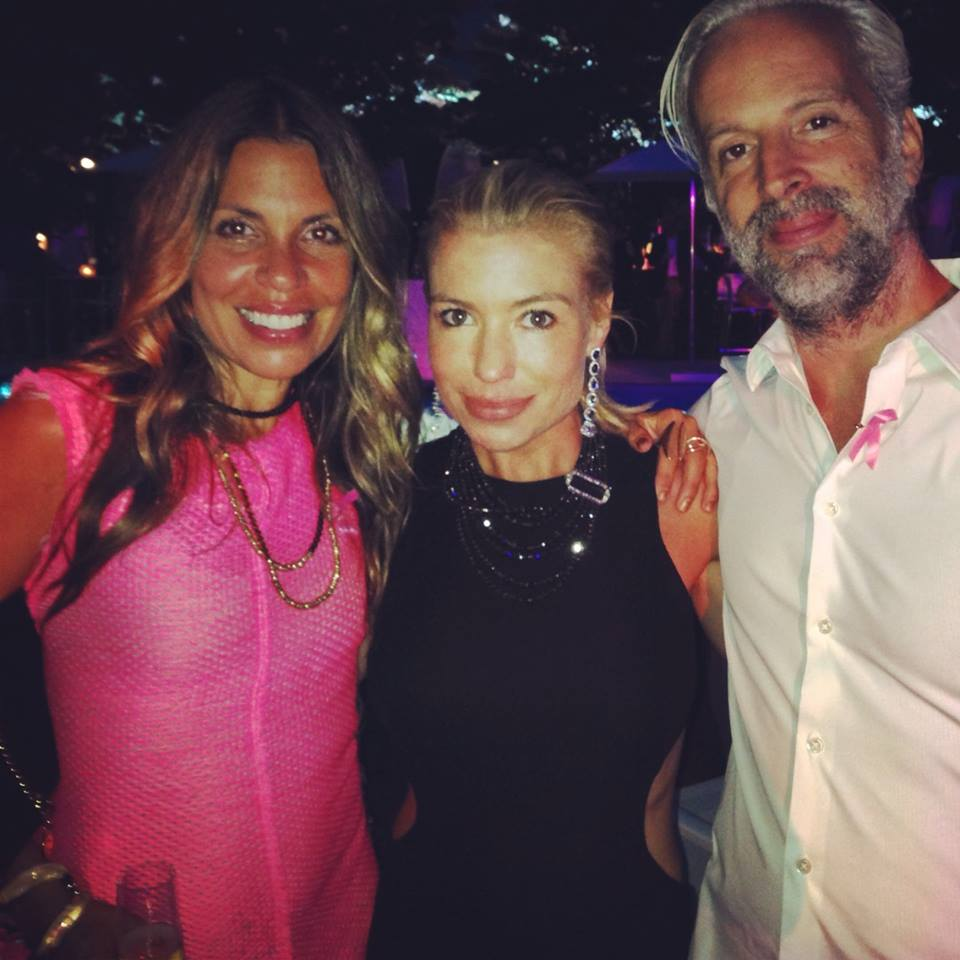 Tracy Anderson, Claudia Saez Fromm and Mark david fromm bcrf 2014