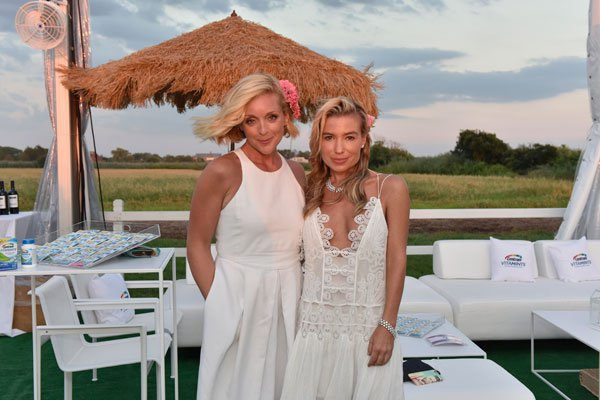 Jane Krakowski and Tracy Anderson