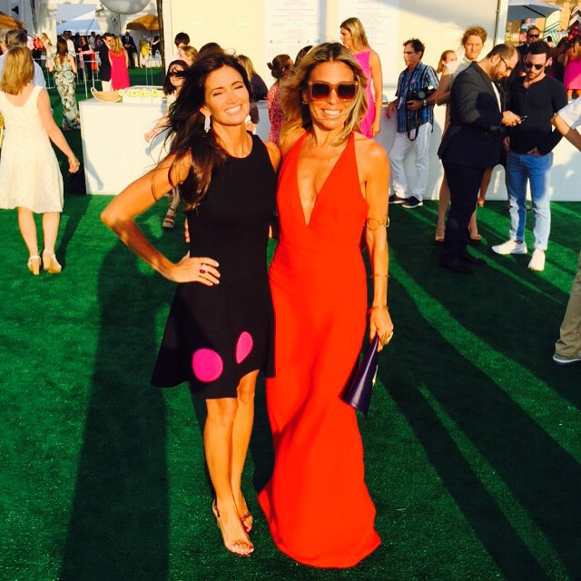 Maria Baum and Claudia Saez-Fromm The Hamptons Paddle & Party for Pink 2015