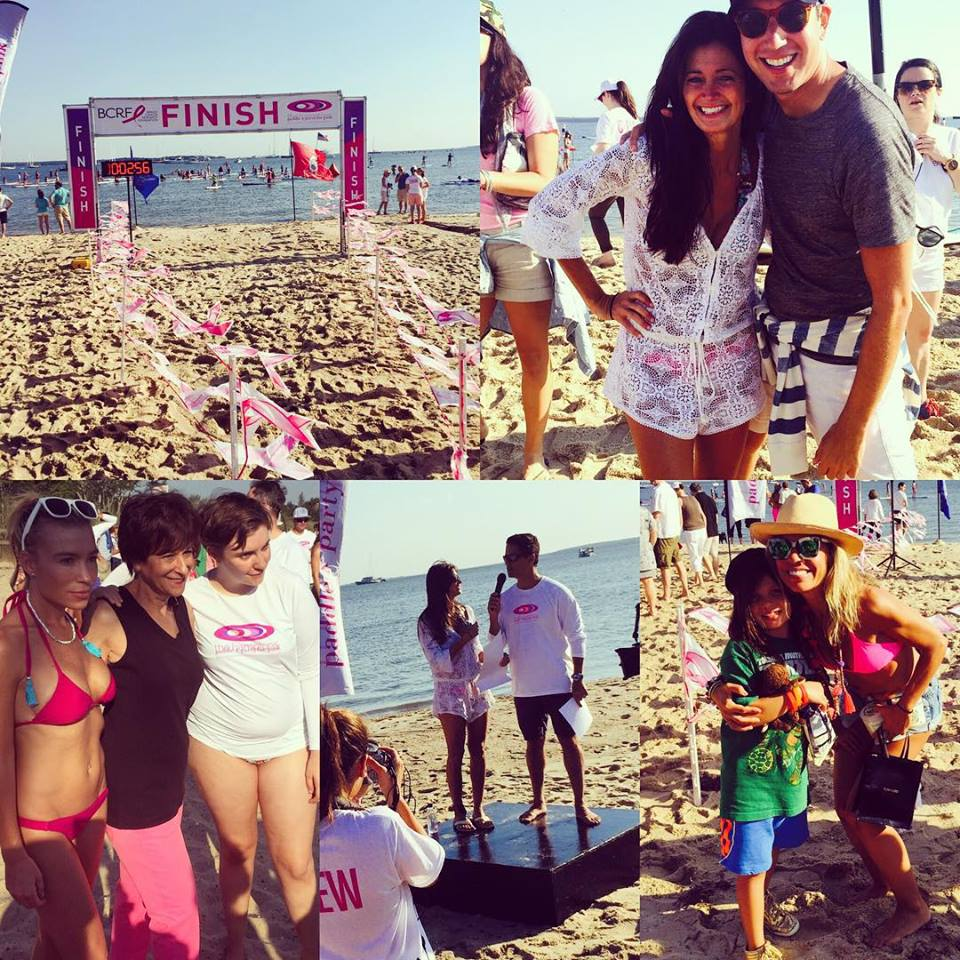The Finish Line - Hamptons Paddle & Party for Pink 2015