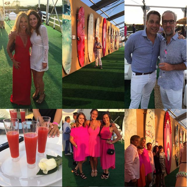 The Hamptons Paddle & Party for Pink 2015 Paddle and Drinks