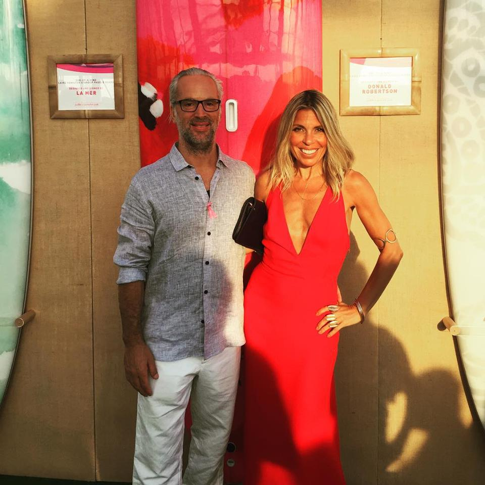 The Saez-Fromm's & The Hamptons Paddle & Party for Pink 2015