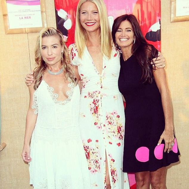 Tracy Anderson, Gwenth Paltro & Maria Baum Paddle & Party for Pink 2015