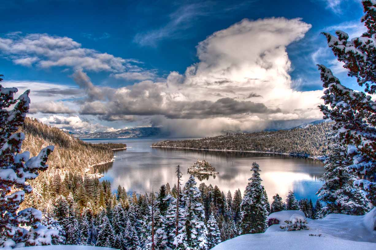 Emerald bay in winter 4