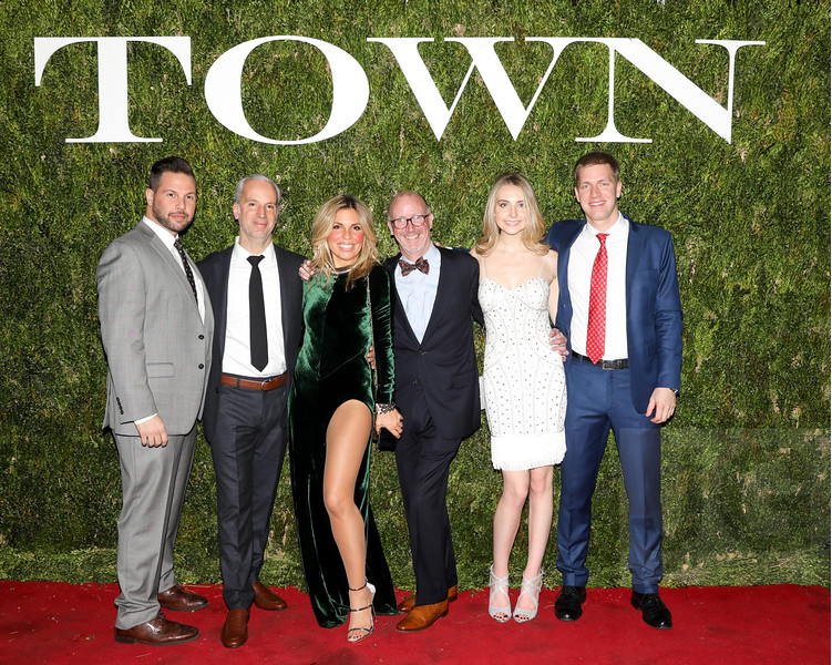 the saez+fromm team town residential holiday party