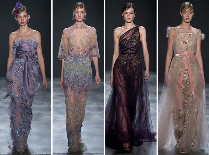 Marchesa Fall Winter 2017-2018 Collection New York Fashion Week