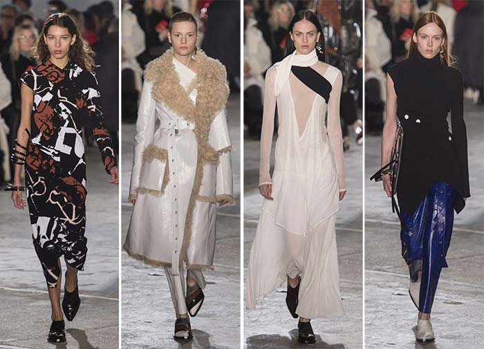 Proenza Schouler Fall Winter 2017-2018 Collection New York Fashion Week