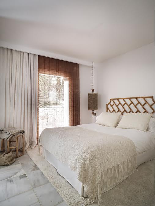 Guest Bedroom Can Mimosa Villa Ibiza
