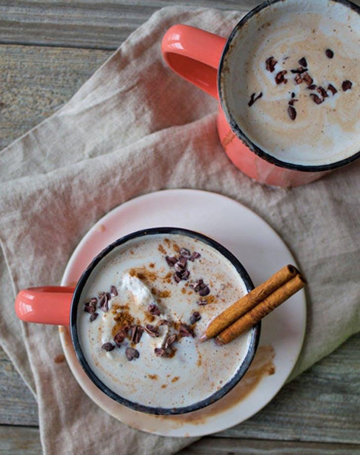 Fall Cocktail Boozy Mexican Hot Chocolate