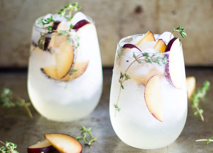 Fall Cocktail Plum