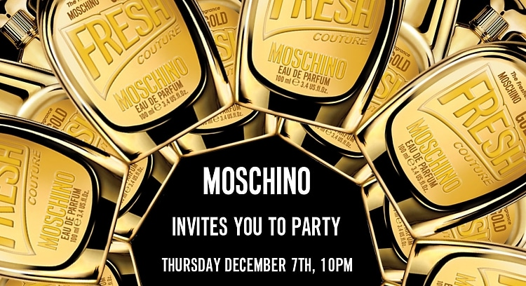 Moschino Miami Party Art Basel Guest of A guest