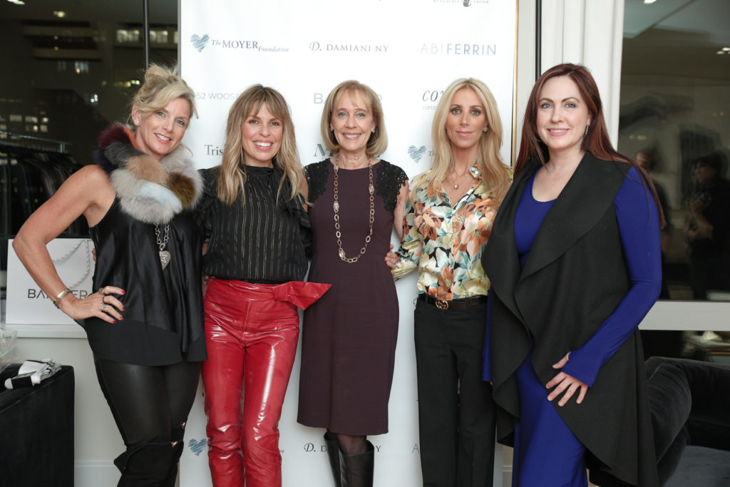 Bandier 52 Wooster Moyer Foundation Karen Moyer Jane Gol Abi Ferrin Damiani Ny Claudia Saez-Fromm