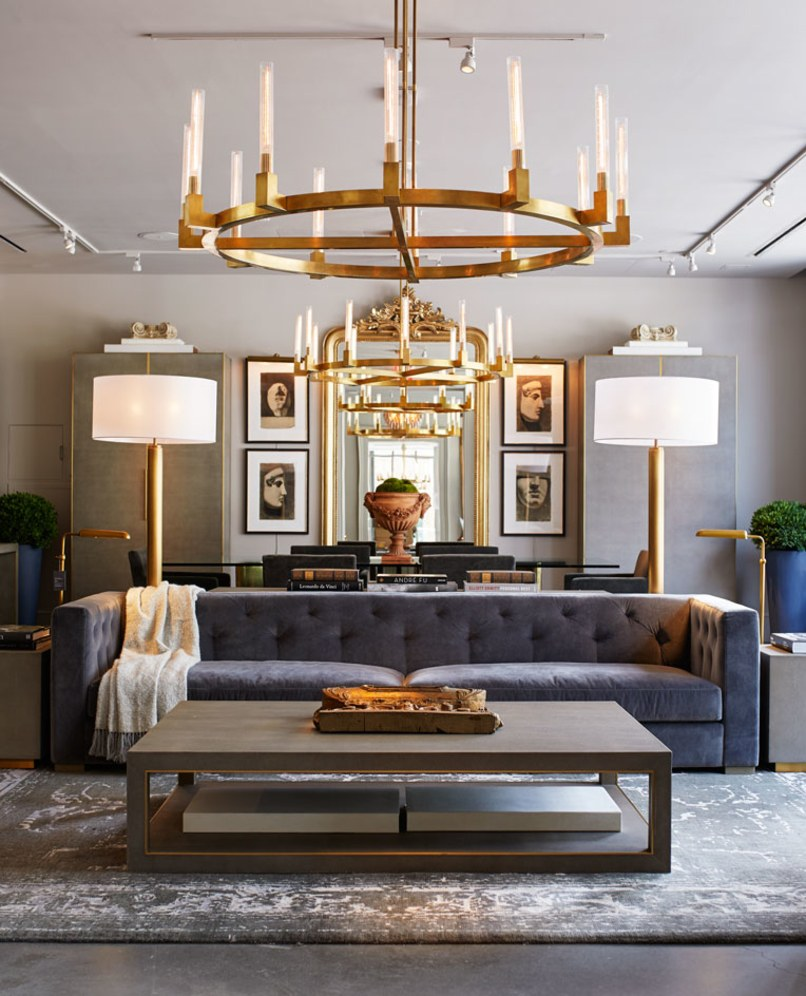 Restoration Hardware Modern: Introducing RH New York, The Gallery