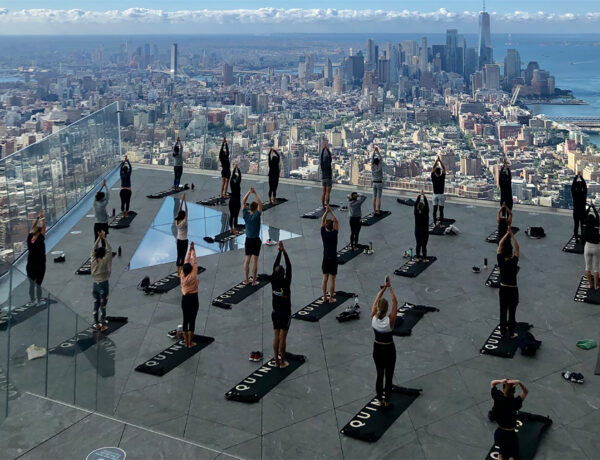 YOGA Workout Hudson Yards - Claudia Saez-Fromm