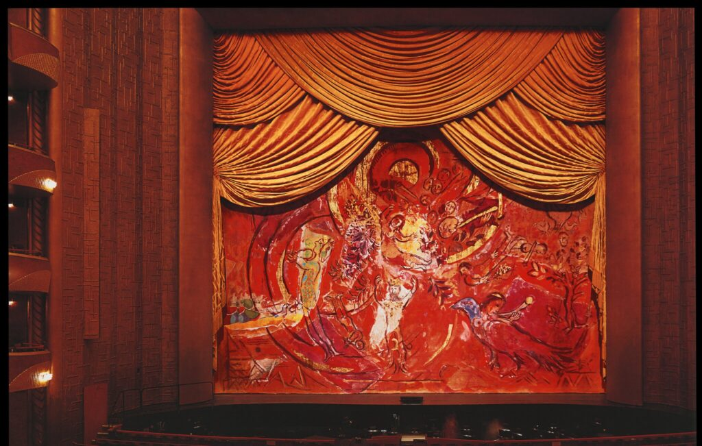Marc Chagall, Metropolitan Opera, Theater, Arts, New York, Claudia Saez-Fromm.
