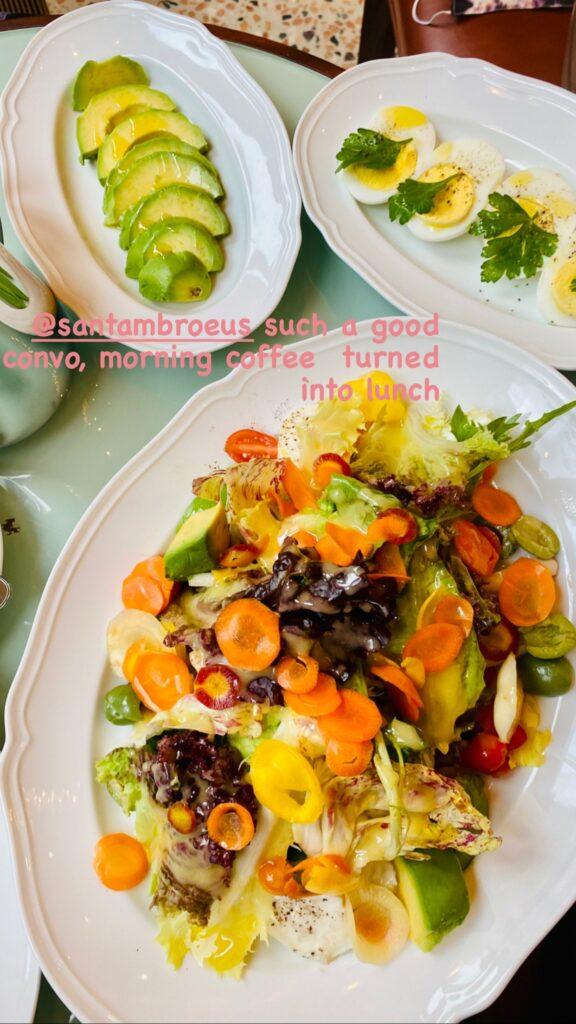 Tricolori Salad, Sant Ambroeus