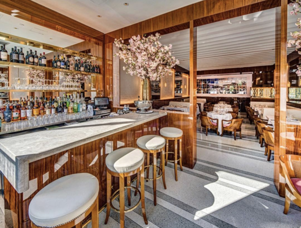 Bellini restaurant in New York City