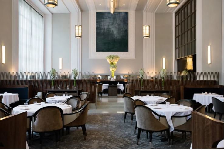 Dining room at Eleven Madison Park
