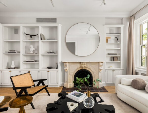 Greenwich Village living room